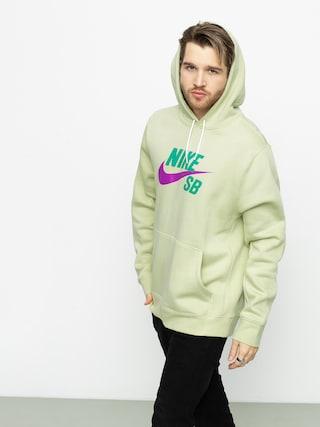 Mikina s kapucí Nike SB Sb Icon HD (olive aura/vivid purple)