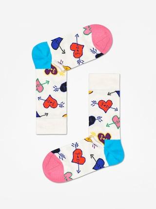 Ponou017eky Happy Socks Linda And Johnny Ramone (natural/blue/pink)