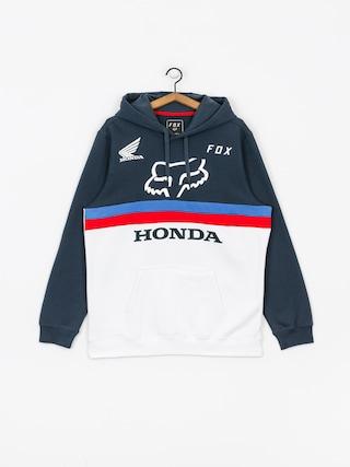 Mikina s kapucu00ed Fox Honda HD (nvy/wht)