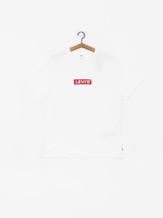 Triu010dko Levi's Relaxed Graphic  Box Tab (white)