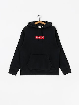 Mikina s kapucu00ed Levi's Relaxed Graphic Box Tab HD (black)