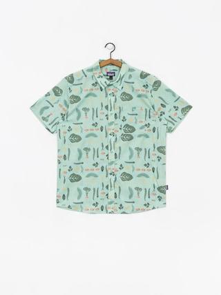 Kou0161ile Patagonia Go To Shirt (gypsum green)