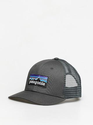 Ku0161iltovka  Patagonia P 6 Logo Trucker ZD (forge grey)