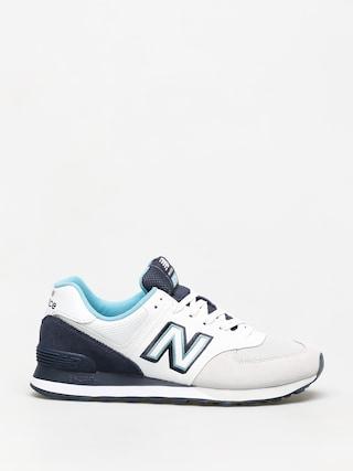 Boty New Balance 574 (white/navy)