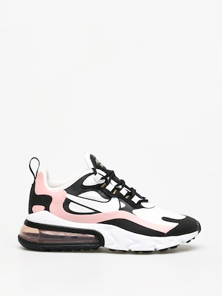 Boty Nike Air Max 270 React Wmn (black/white bleached coral metallic gold)