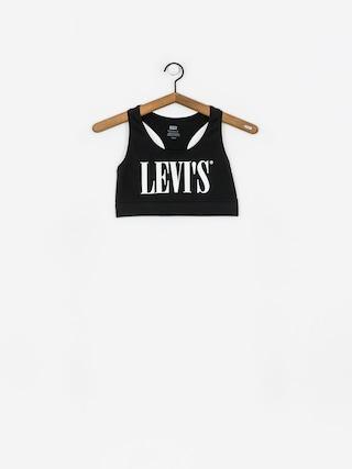 Spodnu00ed pru00e1dlo Levi's Logo Sprots Bra Wmn (black)