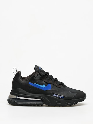 Boty Nike Air Max 270 React (black/blue hero hyper royal cool grey)