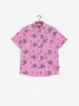 Kou0161ile Patagonia Go To Shirt (marble pink)