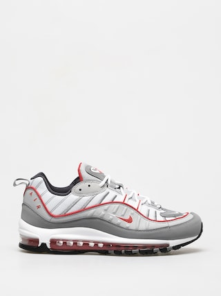 Boty Nike Air Max 98 (particle grey/track red iron grey)