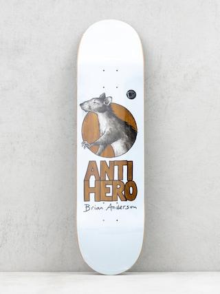 Deska Antihero Ba Scavengers (white/brown)