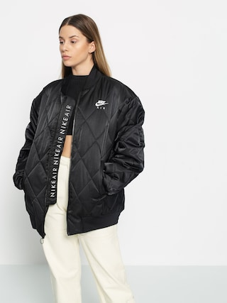 Bunda Nike Air Syn Fill Jkt Satn Wmn (black/black/white)