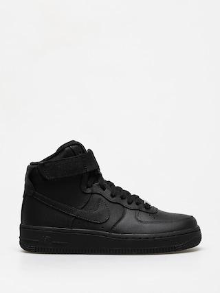 Boty Nike Air Force 1 High Wmn (black/black black)
