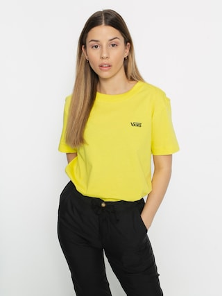 Tričko Vans Junior V Boxy Wmn (lemon tonic)