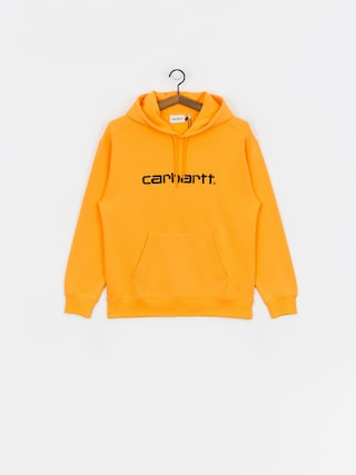 Mikina s kapucu00ed Carhartt WIP Carhartt HD Wmn (pop orange/black)