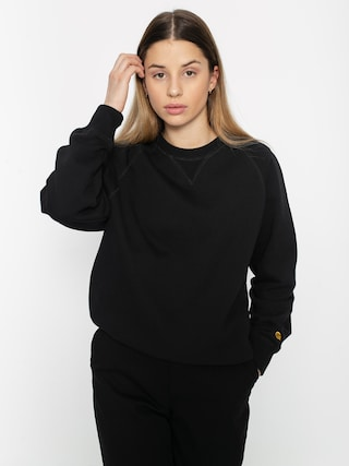 Mikina Carhartt WIP Chasy Wmn (black/gold)
