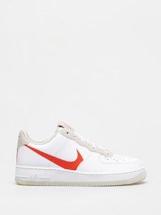 Boty Nike Air Force 1 07 Lv8 (white/total orange summit white black)