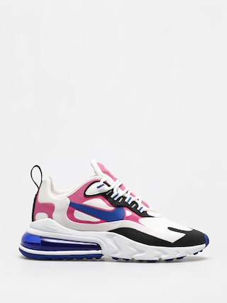 Boty Nike Air Max 270 React Wmn (summit white/hyper blue cosmic fuchsia)
