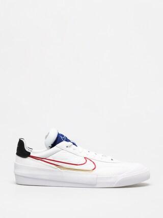 Boty Nike Drop Type (white/university red deep royal blue)