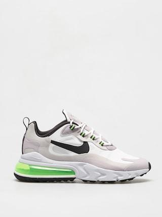Boty Nike Air Max 270 React (summit white/electric green vast grey)