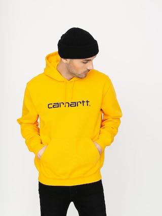 Mikina s kapucu00ed Carhartt WIP Carhartt HD (sunflower/black)