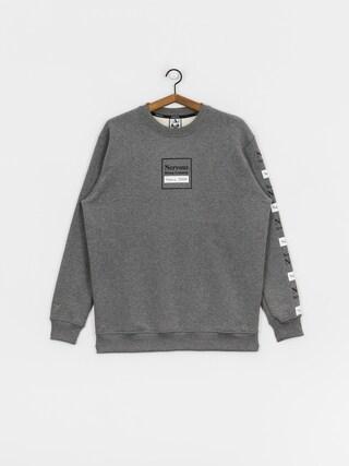 Mikina Nervous Repeat (grey)
