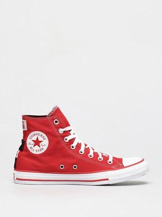 Tenisky Converse Chuck Taylor All Star Heel Logos Hi (medium red)