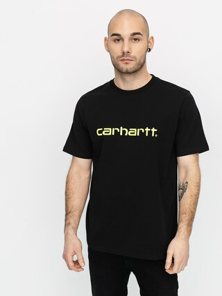 Triu010dko Carhartt WIP Script (black/lime)