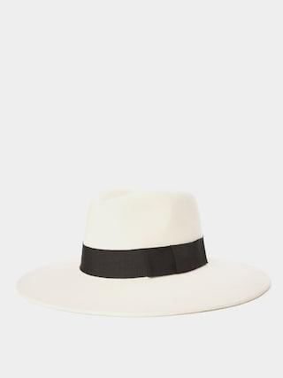 Klobouk Brixton Joanna Felt Hat Wmn (dove/black)