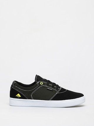 Boty Emerica Figgy Dose (black/green/white)