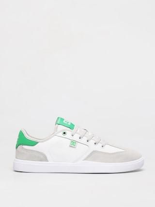 Boty DC Vestrey (white/grey/green)