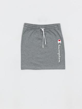 Suknu011b Champion Skirt 112649 Wmn (grjm)