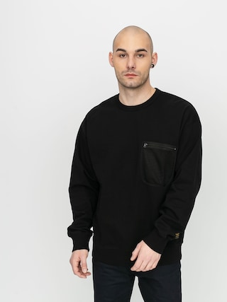 Mikina Carhartt WIP Military Mesh Pocket (black)