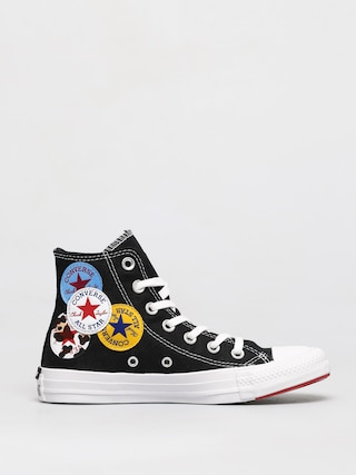 Tenisky Converse Chuck Taylor All Star Multi Logo Hi (black)