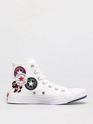 Tenisky Converse Chuck Taylor All Star Multi Logo Hi (optical white)