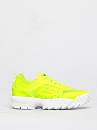 Boty Fila Disruptor Run (neon lime)