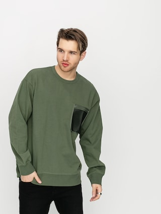 Mikina Carhartt WIP Military Mesh Pocket (dollar green)