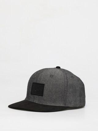 Kšiltovka  Element Collective ZD (black chambray)