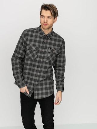 Kou0161ile Brixton Bowery Flannel (black/heather grey)