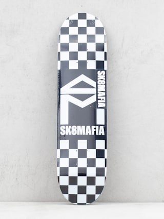 Deska Sk8Mafia House Logo (checker black)