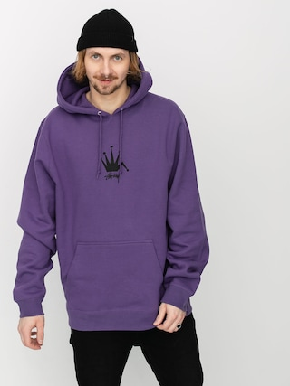 Mikina s kapucu00ed Stussy Old Crown HD (purple)