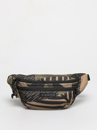 Ledvinka Burton Hip Pack (martini olive woodcut palm)
