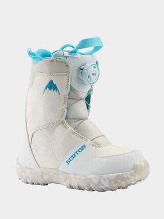 Boty na snowboard Burton Grom Boa (white)