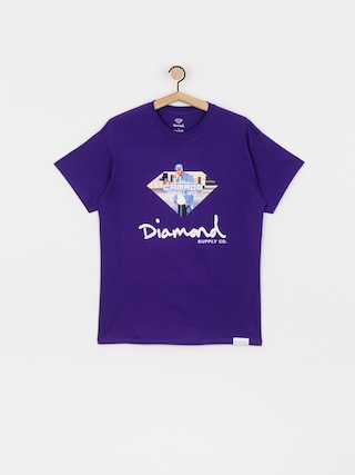 Triu010dko Diamond Supply Co. Cam Ron Sign (purple)