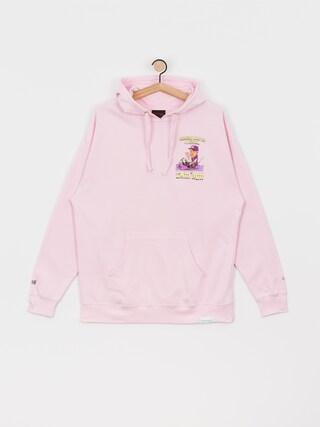 Mikina s kapucí Diamond Supply Co. Sake HD (pink)
