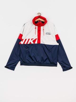 Bunda Nike SB Anorak (midnight navy/white/university red/white)
