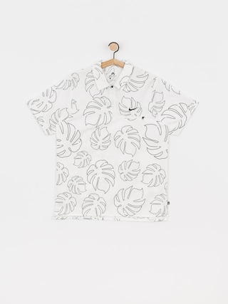 Polo tričko Nike SB Paradise Woven (white/black)