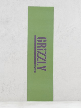 Grip Grizzly Griptape Stamp Necessities (olive green/plum)