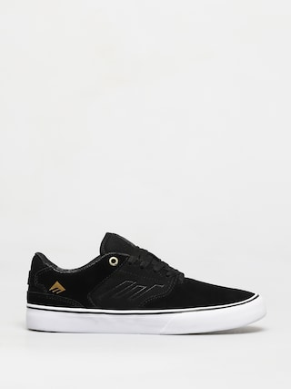 Boty Emerica The Low Vulc (black/gold/white)