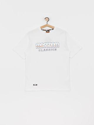 Tričko MassDnm Chrome (white)