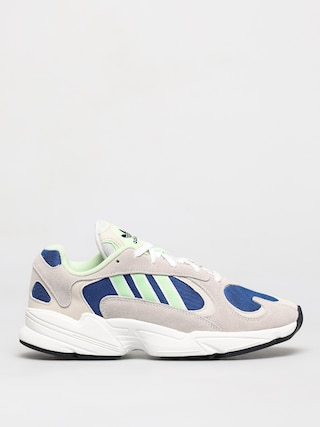 Boty adidas Originals Yung 1 (ftwr white/glow green/collegiate royal)
